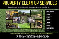 ORILLIA-ORO  Property Maintenance-lawns-tree removal-excavation