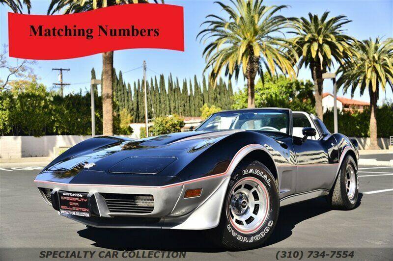 1978 Black Chevrolet Corvette     C3 Corvette Photo 1