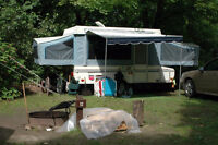 Skamper pop-up camping trailer in excellent condition