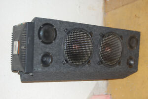 Used  MTX Subwoofer  and JBL amplifier