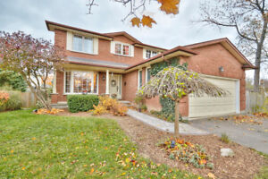 All Brick 2 Storeys double garage 4 +1 beds 3 baths