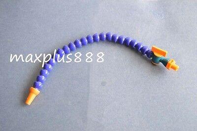 2pcs18 Bspt Nozzle Adjustable Plastic Water Oil Coolant Pipe Hose Lathe Cnc