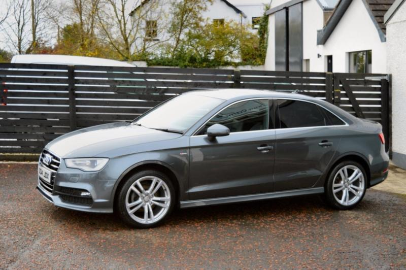 2014 audi a3 s line saloon daytona grey fash a4 a5 cla 320d in ballymoney county antrim. Black Bedroom Furniture Sets. Home Design Ideas