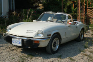 1975 Spitfire Convertible/Hardtop For Sale