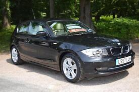 2007 BMW 1 SERIES 116i SE 3dr Step Auto [122] ONE LADY OWNER 27,000Mls