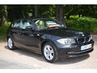 BMW 1 SERIES 116i SE 3dr AUTOMATIC ONE LADY OWNER LOW MILEAGE 27,000 MILES