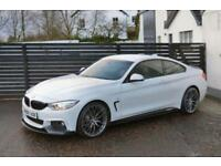 2013 BMW 4 SERIES 420D M SPORT 8SP AUTO ALPINE WHITE FBMWSH