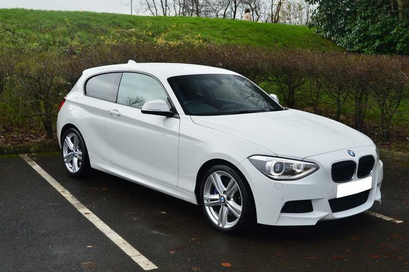 BMW 1-Series 125d M Sport 3 door (white) 2013 | in Ribbleton ...