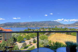 3 Bedroom Condo/ Accommodates 9/Amazing view/ Downtown Kelowna