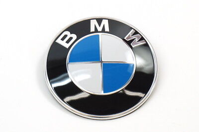 BMW 51147044207 Z4 FRONT HOOD EMBLEM BADGE OEM 03-16 NEW GENUINE