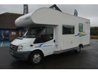 2007 CHAUSSON FLASH 03 FORD TRANSIT 2.2 DIESEL 6 SPEED MANUAL GEARBOX 6 BERTH 6