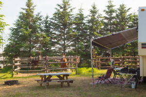 Equestrian Camping In The Ottawa Valley