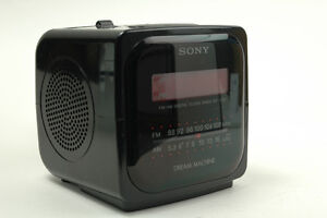 Vintage Sony Dream Machine LED clock