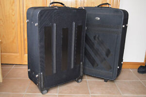 2 AMERICAN TOURISTER SUITCASES