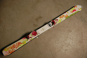 Girl Skis/Bindings 120cm-Rossignol (with boots)