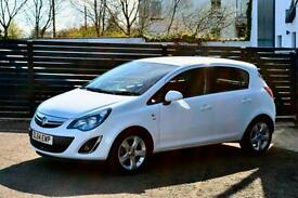 VAUXHALL CORSA 1.2 16V SXI 85PS AC ARTIC WHITE FSH WARRANTY £135 PER MONTH