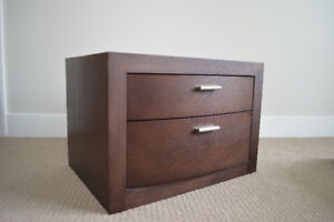 Nightstand and drawers