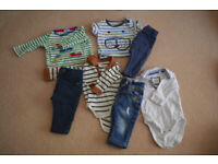 Bundle of baby clothes F (3-6 months)