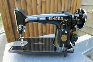 Looking for a singer sewing machine model 201 with table and att