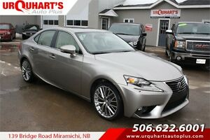 2015 Lexus IS 250! AWD! WOW! FULLY LOADED!