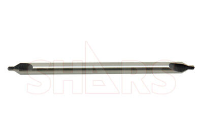 Shars 2 X 5 Long M2 60 Combined Drill Countersink Center Drill New