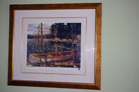 "Framed Print ""The Canoe"" by Tom Thomson"