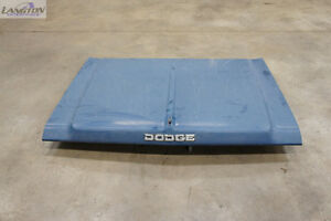 Hood from 1989 Dodge Ram D350 Pickup