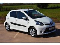 2012 TOYOTA AYGO 1.0 VVT i Fire 5dr [AC] VERY LOW MILEAGE