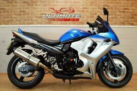 2010 10 SUZUKI GSX 650 F LO - FREE DELIVERY AVAILABLE