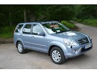 2006 HONDA CR V 2.0 i VTEC Sport 5dr Auto ONE OWNER 4X4