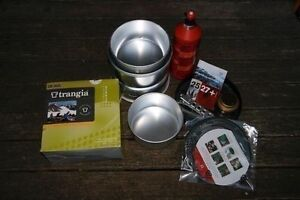 TRANGIA 25-3UL campstove for 3-4 pers(1.5L+1.75L posts+frypan) West Hobart Hobart City Preview