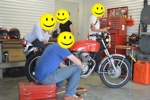 1976 Honda CB400F - your wife said it's OK