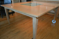 Dining Table and Matching Console