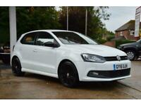 2015 Volkswagen Polo 1.4 TSI BlueMotion Tech ACT BlueGT DSG (s/s) 5dr Petrol whi
