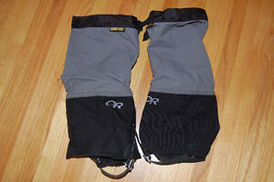 outdoor research gore-tex gaiters cross country skiing, hiking