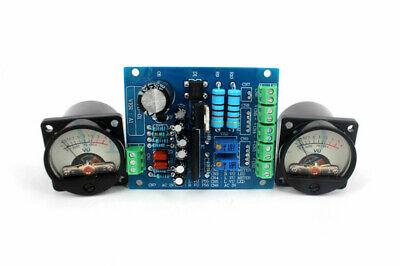 1set Vu Panel Vu Meter Audio Level Meter 6-12v Audio Level With Warm Backlight