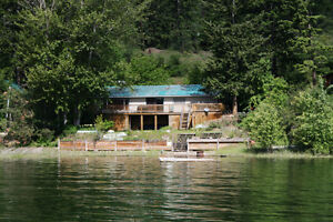 Affordable Little Shuswap Lake leased property!