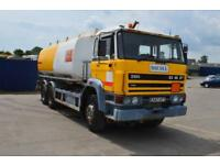 DAF 2100 6x2 fuel tanker, Manual Fuep Pump. Manual Gearbox