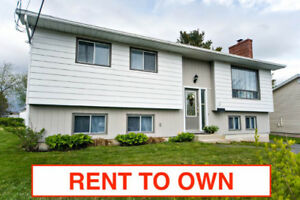 ★ RENT TO OWN ★ 4 bed / 2 bth with Garage
