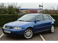 Audi A3 1.6 2002MY SE