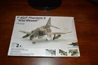 """Testors F-4G/F Phantom II """"wild Weasel"""" 1/48 Scale NEW"""