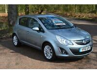 2012 VAUXHALL CORSA 1.4 SE 5dr Automatic LOW MILEAGE ONLY 12,000 MILES