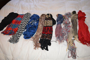 10 lovely scarves