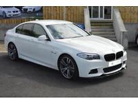 2011 11 BMW 5 SERIES 2.0 520D M SPORT 4D 181 BHP DIESEL-ONLY 50,000 MILES