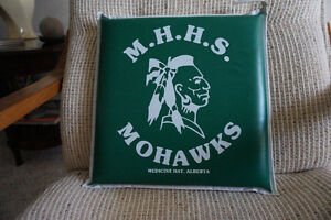 Collectors item MHHS Mohawk seat cushion