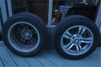 Winter Tires and Rims for BMW X3