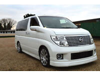 FRESH IMPORT 2005 FACE LIFT NISSAN ELGRAND V6 AUTOMATIC 8 SEATER PEARL