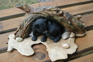 3-D Table Sculpture, Hand Crafted Baby Bears Belleville Belleville Area image 9