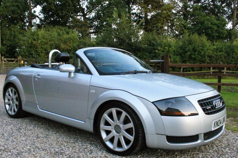 2004 audi tt 1 8t 180 convertible quattro 2dr coupe fsh. Black Bedroom Furniture Sets. Home Design Ideas