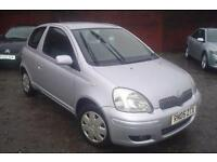 2005 Toyota Yaris 1.0 VVT-i Colour Collection+low insurance+nice miles